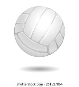 Volleyball ball, vector illustration