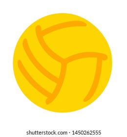 volleyball  icon. Logo element illustration. volleyball   symbol design. colored collection. volleyball  concept. Can be used in web and mobile