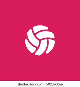volleyball icon. volleyball sign