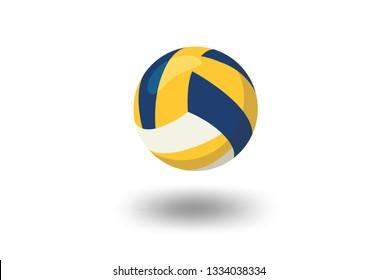 volleyball illustration vector