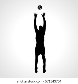 volleyball setter images stock photos vectors shutterstock