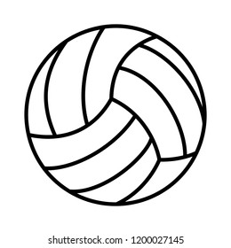volleyball sport ball icon