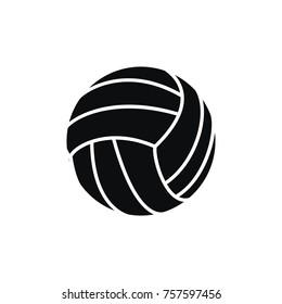 Vollyball vector game sport logo illustration sport emblem