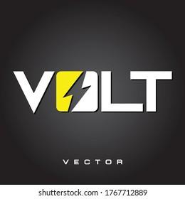 VOLT BUSINESS ELECTRIC POWER LOGO