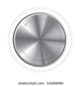 volume control over white background vector illustration