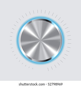 Volume Control Vector Drawing