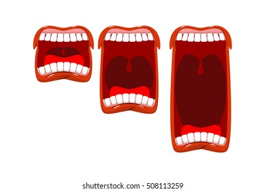 Screaming Mouth Images, Stock Photos & Vectors | Shutterstock