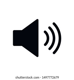 Volume up or down vector icon.