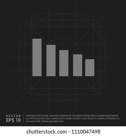 Volume Icon - Black Creative Background - Free vector icon
