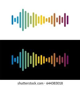 Volume sound logo template