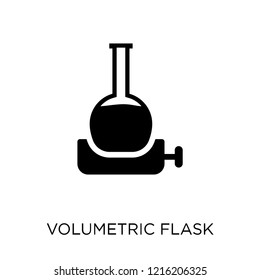 Volumetric flask icon. Volumetric flask symbol design from Science collection. Simple element vector illustration on white background.