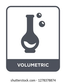 volumetric icon vector on white background, volumetric trendy filled icons from Chemistry collection, volumetric vector illustration