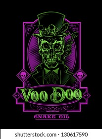 Voodoo Snake Oil Skeleton