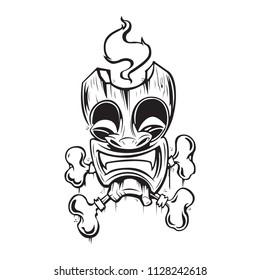 VooDoo Tiki Mask