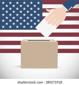 Vote for America Election Background