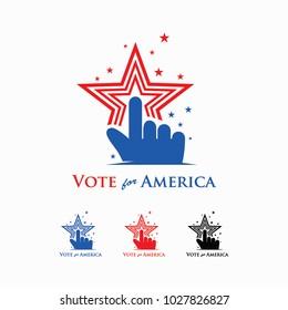 vote for america logo