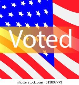 Vote Banner USA