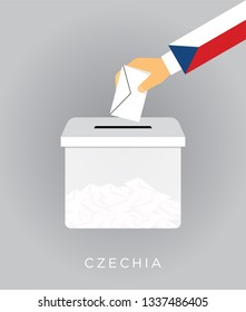 Vote for Czech elections with election box