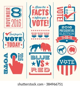 vote design elements 2016 election united states