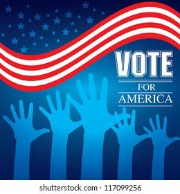 Vote election Vector illustration