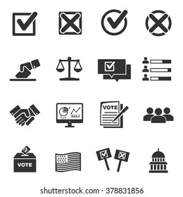 Vote icons  - vector icon set