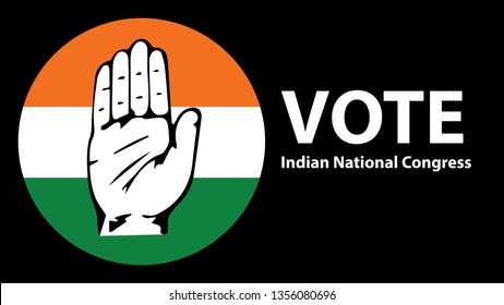 Vote for Indian national Congress