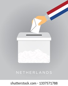 Vote on elections in the Netherlands with the ballot box