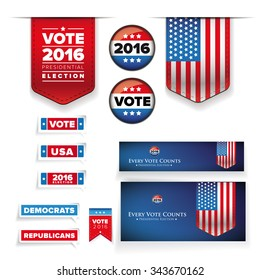 Vote and presidential election set