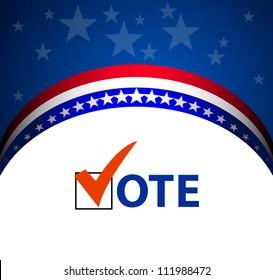 Voting Symbols vector