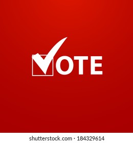 Voting Symbols vector design