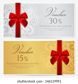 Gift Voucher Images, Stock Photos & Vectors | Shutterstock