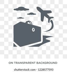 voyage icon. Trendy flat vector voyage icon on transparent background from Architecture and Travel collection. High quality filled voyage symbol use for web and mobile