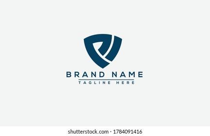 VP, PV Logo Design Template Vector Graphic Branding Element.
