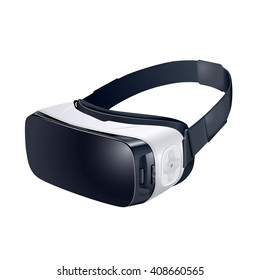 VR Glasses for a smartphone. Isolated on white background.