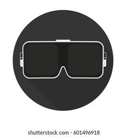 VR glasses for smartphone vector illustration. VR icon.