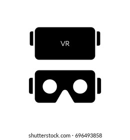 VR glasses for smartphone vector illustration. Virtual reality gear box for smartphone.
