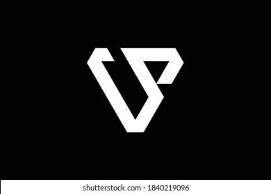 VS letter logo design on luxury background. SV monogram initials letter logo concept. VS icon design. SV elegant and Professional letter icon design on black background. V S VS SV
