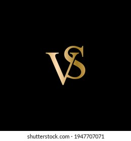 VS Letters icon illustration, Logo Design Inspiration