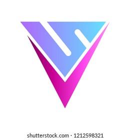 VS logo, V and S monogram/initial letter logo design