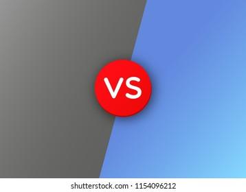 Vs versus battle background .  Fight vector banner