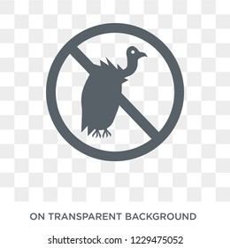 Vulture funds icon. Trendy flat vector Vulture funds icon on transparent background from business   collection. High quality filled Vulture funds symbol use for web and mobile