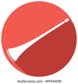 vuvuzela flat icon