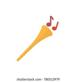 vuvuzela icon flat