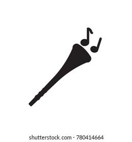 vuvuzela icon glyph
