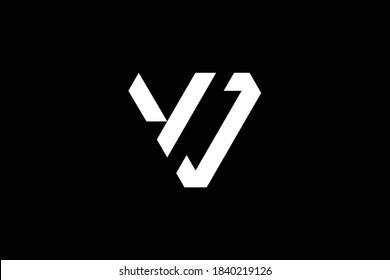 VV letter logo design on luxury background. VV monogram initials letter logo concept. VD icon design. DV elegant and Professional letter icon design on black background. VV VD DV