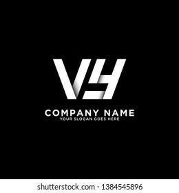 VY  initial logo vector, initial brand name, clean and strong company logo design