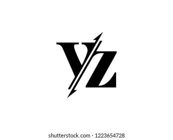 VZ initials logo sliced