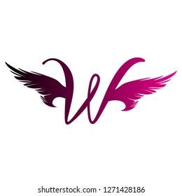 W graphics logo