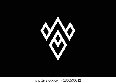 W letter logo design on luxury background. WW monogram initials letter logo concept. WA icon design. AW elegant and Professional letter icon design on background. W WW WA AW