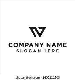 w logo w icon w vector w logo line